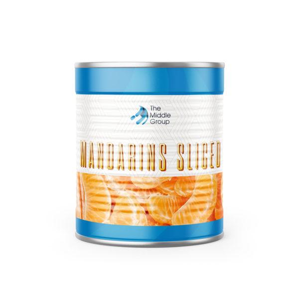 MANDARINS-SLICED middle group foods